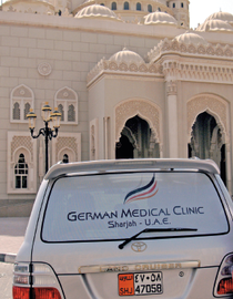 Dr. Christian Heidenreich, Sharjah, Dubai, Medizin, integrative German Medical Clinic, ganzheitlich, Kardiologie, Gastroeneterologie, Cardiology, Ultrasound, thyroid, gluten sensitivity, celiac