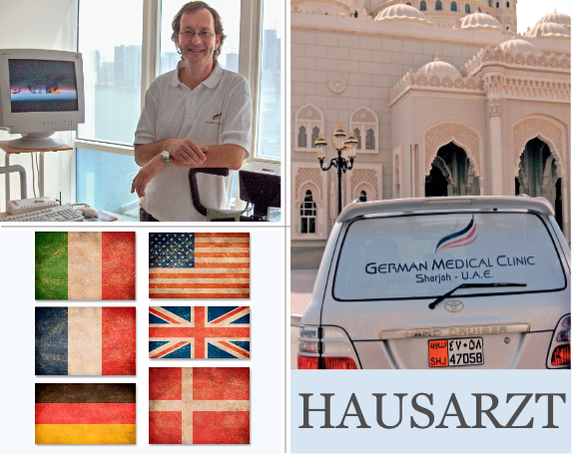 Hausarzt, Internist, Gastroenterologe, Dubai, Sharjah, Christian Heidenreich, Medizin, integrative Medizin, German Medical Clinic
