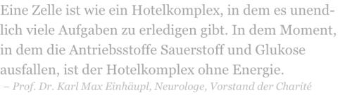 Prof. Dr. Karl Max Einhäupl, Neurologie, Vorstand, Charite, Schlaganfall, Parkinson, Demenz, Alzheimer,  intergrative Medizin